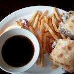 French Dip....the fries look sparse, but there really were more there than the photo represents!