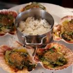 Coquilles St Jacques à la Provencale et son riz