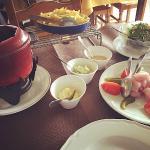 La fondue Huhnerstall