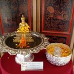 Songkran shrine at the lobby.