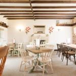 A warm, clean and lovely tearoom
