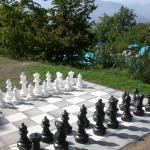Outdoor Schach