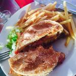 Jojo Burger with Fries