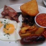 A Full English from Cafe Fego.
