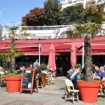 le grand cafe, la terrasse