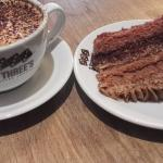 Vegan Chocolate Cake and Coffee