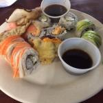 Sushi and Potstickers