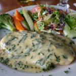 Sea Bass in a white sauce