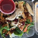 Special grilled chicken salad
