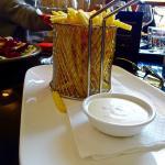 Srumptuous fresh crunchy fries