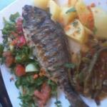 sea-bream on the grill