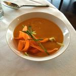 Lovely carrot soup