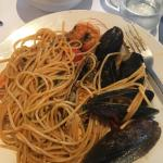 Seafood Pasta with bugs and chilli