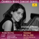 """Stavroula Thoma """"Folk inspired piano recital"""""""