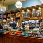Cafe Nero, Market Street, counter