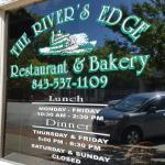 We really enjoyed the River's Edge Restaurant. The desert and coffee were wonderful. Will go bac