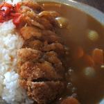 Kastu curry rice