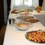 Dessertbüffet mit Bedienung