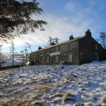 Skiddaw House in the snow