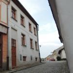Vstup do Rekreačního domu Neradová ve Slavonicích