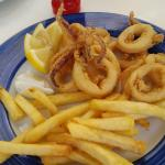 Calamari from the Menu del Dia