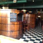 The barrels are fun to sit in. It gives you a bit more privacy