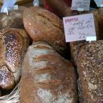Part of the breads' selection