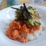 Sushi revisité aux 3 couleurs