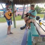 Sunday morning Breezy Palms Band!