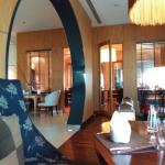 Beautiful dining room and good food