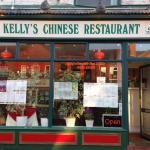 Kellys Chinese Restaurant in Stockton Heath 1992