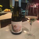 """Pedimos vino """"el jardín de Lucía"""" muy recomendable"""