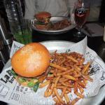 Burger et frites maison !