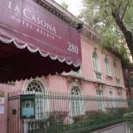 Exterior of La Casona