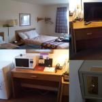 our double-bed room