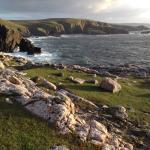 View looking west from Strathy Point lighthouse