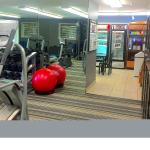 From the fitness room, laundry, store, cupboard, and 24/7 coffee; no exercising w/o interruption