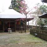 下山後は岩湧寺を散策