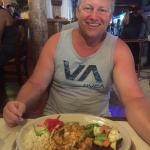 My husband ordered the La Cantrina dish and he really loved it!! Perfectly cooked and stuffed wi