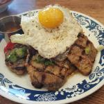 Suon Nuong Xa- grilled lemongrass pork loins so tendy you can cut it with a fork! Check out the