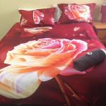 Bright bed linen
