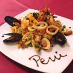Arroz con Mariscos - Paella Peruviana