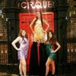 A fabulous new venue- Cirque (previously hell fire club) wonderful to see original restored feat