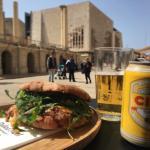 Pulled pork ftira served in the heart of Valletta