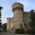 Auffahrt zum Castello di Meleto