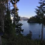 Meares Island in the distance