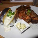 T-Bone Steak mit Kartoffel