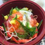 Sashimi and rice special!