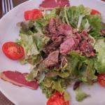 Salade de gesier !!!!!