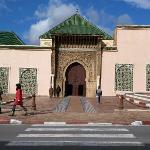 Acceso al mausoleo
